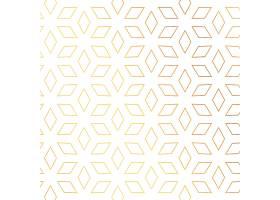 菱形金色图案矢量背景_2395263