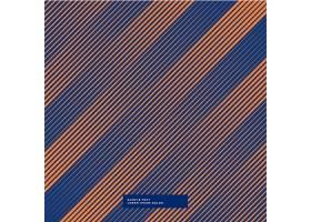 背景为橙色和紫色线条_1075498