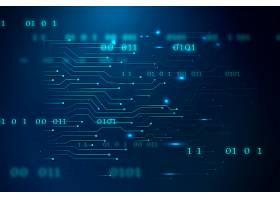 蓝色未来主义网络技术_13311397