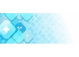 蓝色的抽象医学_12617409