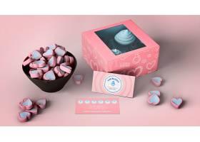纸杯蛋糕包装和品牌模型_4383763