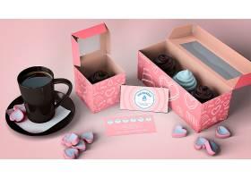 纸杯蛋糕包装和品牌模型_4383765
