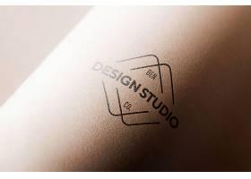 曲线纸徽标模型_8416139