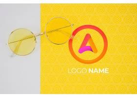 带有LOGO名称设计的夏季眼镜_6414963