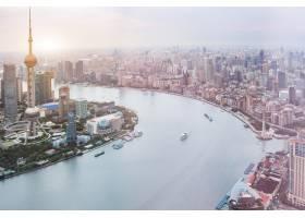 上海地平线鸟瞰图_1120727