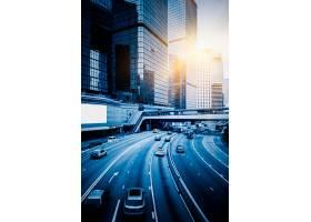 与都市风景的都市交通_1193621