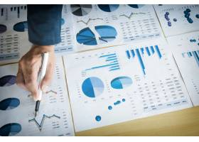 团队工作流程年轻商业经理人员工作与新的_1202207