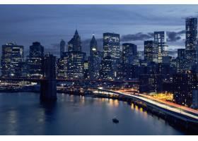 纽约市中心的地平线纽约美国_10480160