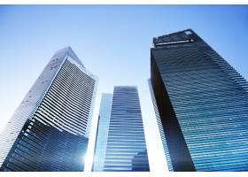 当代建筑办公楼大厦都市风景个人透视概念_3224649