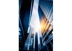低角度视图的摩天大楼_1193602