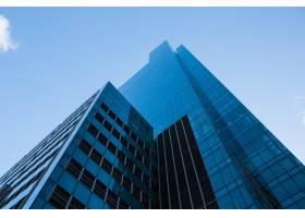 办公室摩天大楼在商业区_10747691