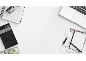 顶视图金融业务元素_11621172