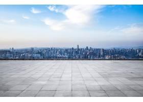 现代大都市地平线重庆中国重庆全景_1242544