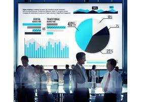 数字营销图表统计分析财务市场概况_2789116