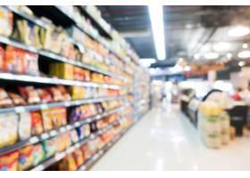 在百货商店的抽象迷离超级市场_1136080