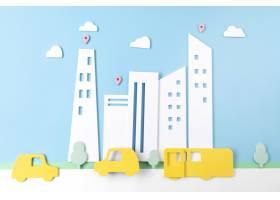 与车辆的都市运输概念_15226173