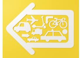与车辆的都市运输概念_15226111