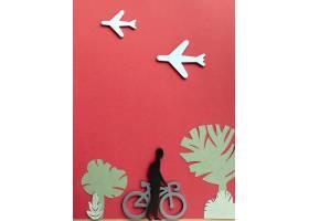 与人的都市运输概念自行车的_15226167