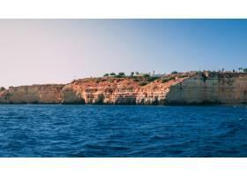 阿爾加維海岸的美好的射擊在葡萄牙_14191649