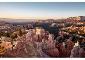 峽谷風景的美好的風景在布賴斯峽谷國家公園_13962466