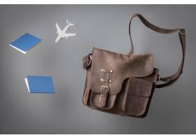 与护照和袋子的旅行概念_16139027