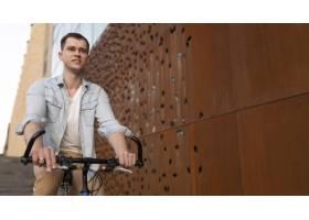 自行车的中射击人_14960765