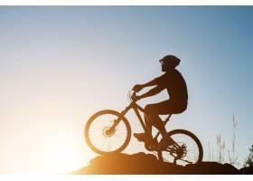 轮廓自行车骑自行车运动员旅游运动_1088183