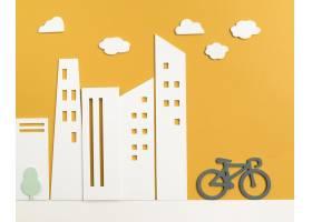 运输概念与自行车_15226130