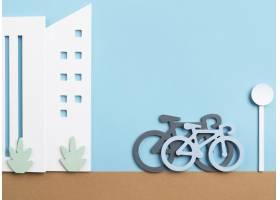 运输概念与自行车_15226141