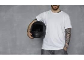 摩托车用白色T恤_10898850