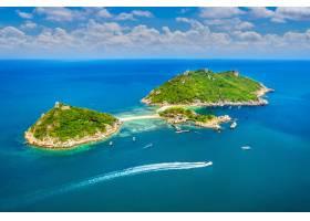 酸值南源島鳥瞰圖在蘇叻他尼泰國_13249914