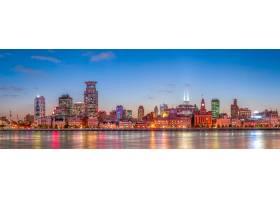城市商业城市河流金融外滩_1251709