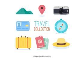 旅行元素集合与平面设计_2354563