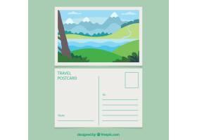 旅行明信片与风景_2362284