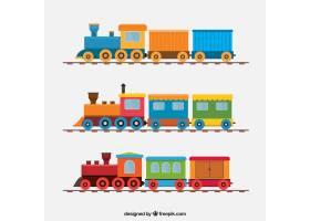 包装在平面设计中的大火车_1108691