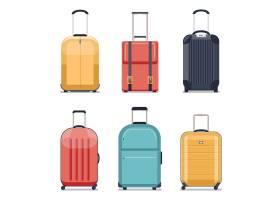 旅行行李或旅行手提箱图标行李套装假期和_13031413
