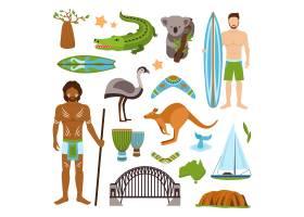 澳大利亚图标集_1531121