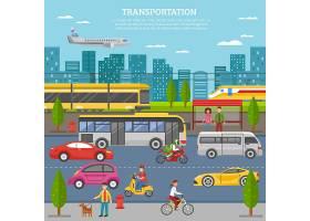 在城市海报运输_3813273
