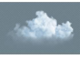 在透明隔绝的现实白色蓬松云彩_14087944