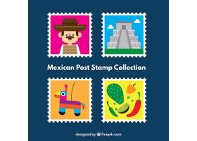 墨西哥邮政邮票包装_1117261