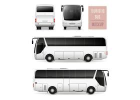 旅游巴士现实广告模板_4323147