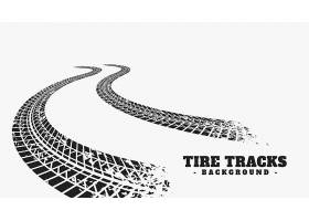 汽车轮胎轨道轮子印刷品背景_15245474