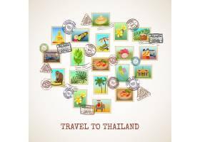 泰国明信片海报_3910250
