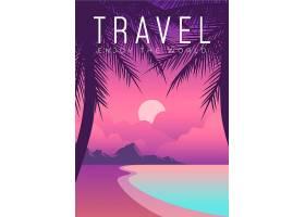 异国情调的地方旅行海报设计说明_7354097