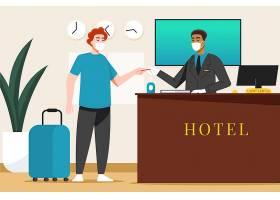 有机扁平的新普通酒店_13561864