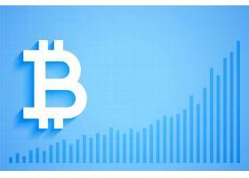 比特币数字加密货币增长图表_12686017