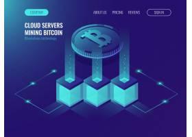 Crypto货币挖掘概念区块科技令牌系统网_2910216