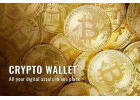 Crypto钱包财务模板矢量开源区块博客横幅_16268083