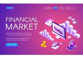 数字营销和比特币加密货币贸易统计的金融市_3264782