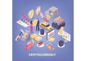 加密货币等距图_6821701